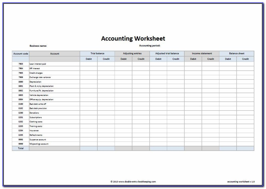 Accounts Payable Template Free