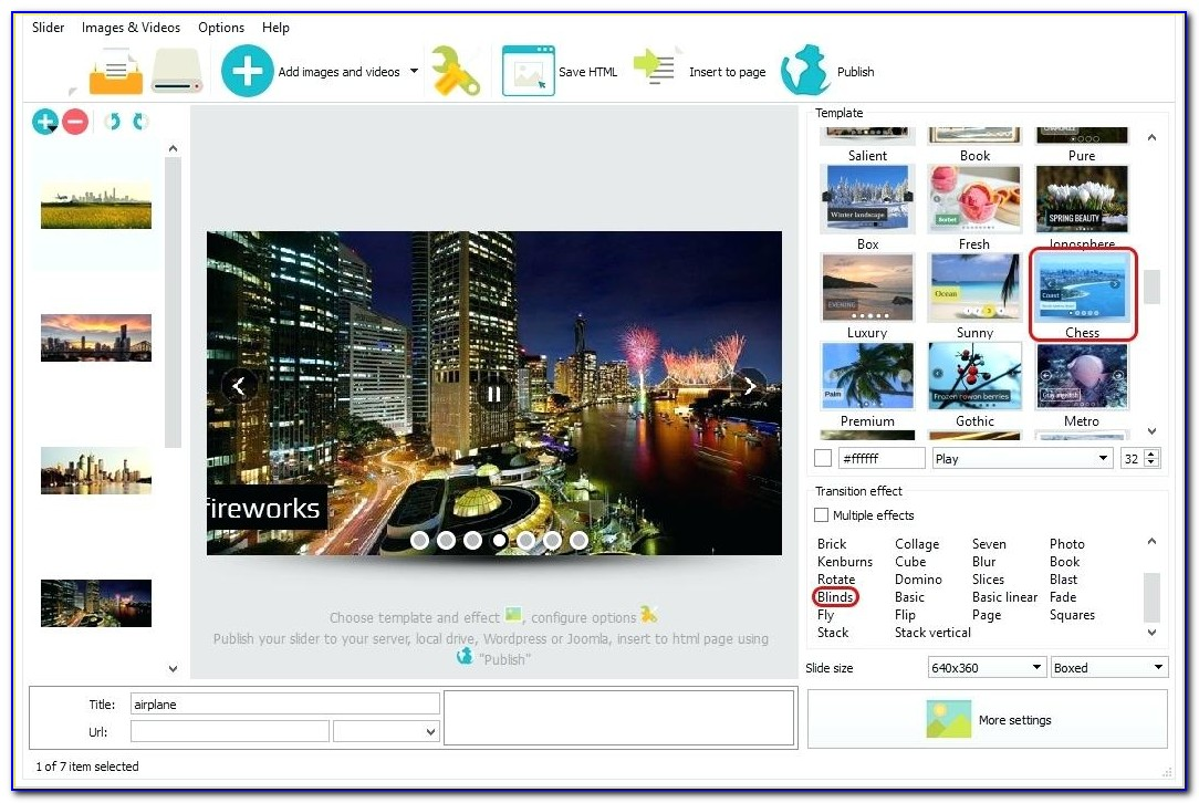 Adobe After Effects Photo Slideshow Template Free