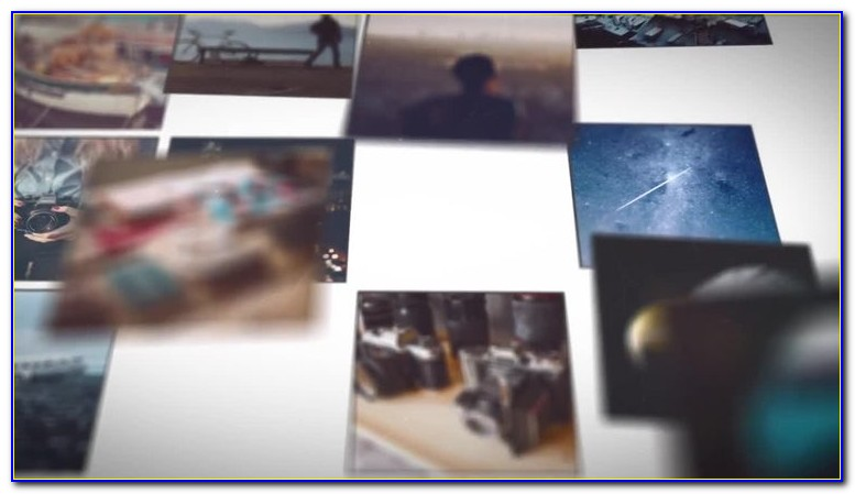After Effects Photo Slideshow Templates Free