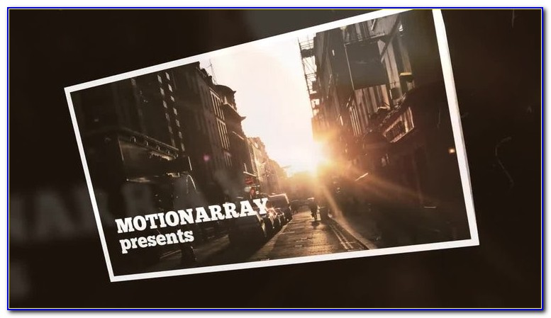 After Effects Photo Slideshow Templates