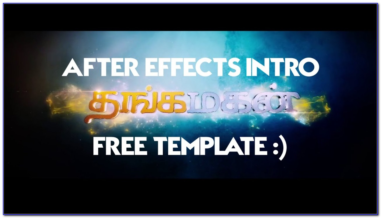 After Effects Title Intro Templates Free