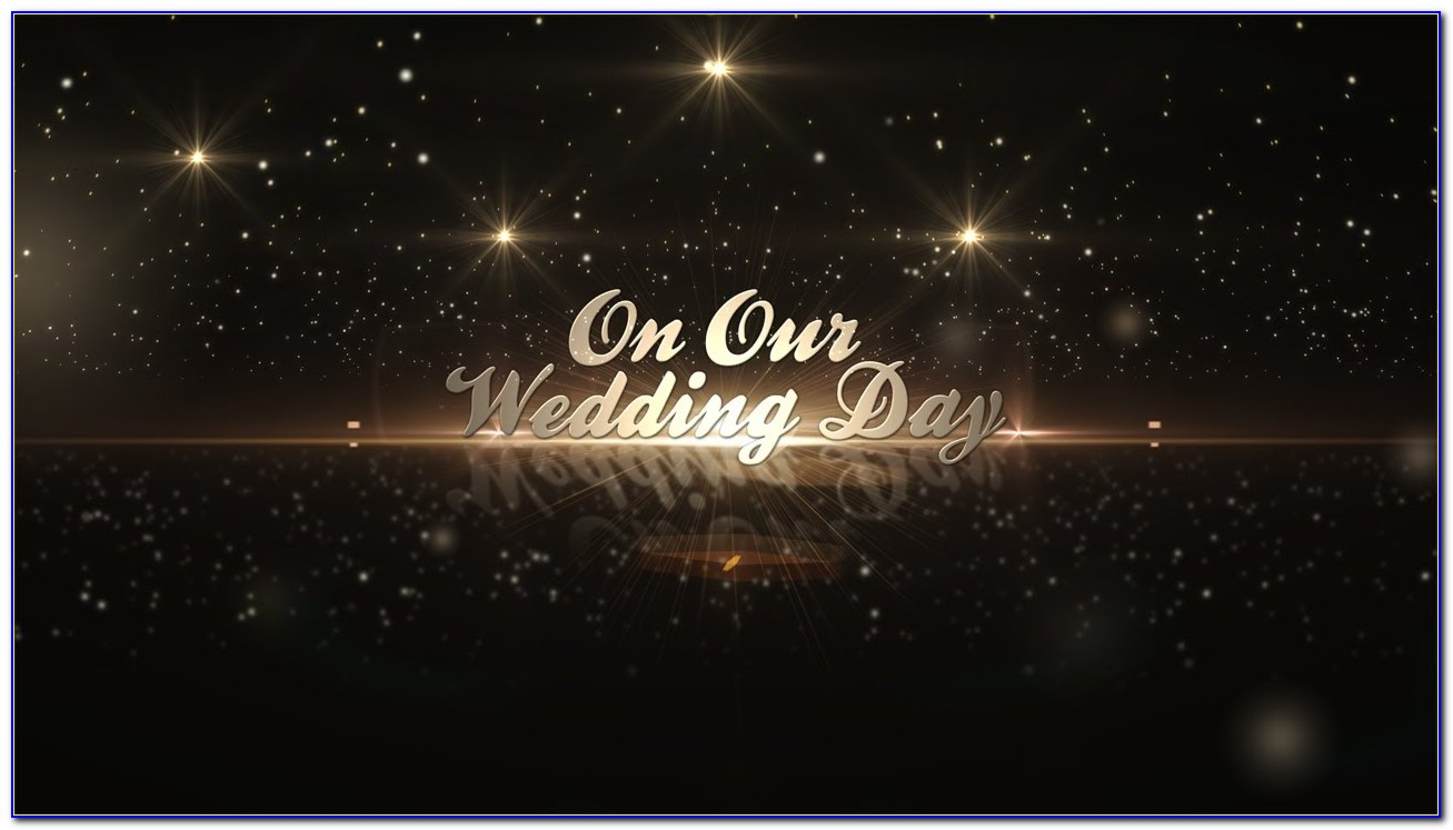 After Effects Wedding Intro Template Free Download