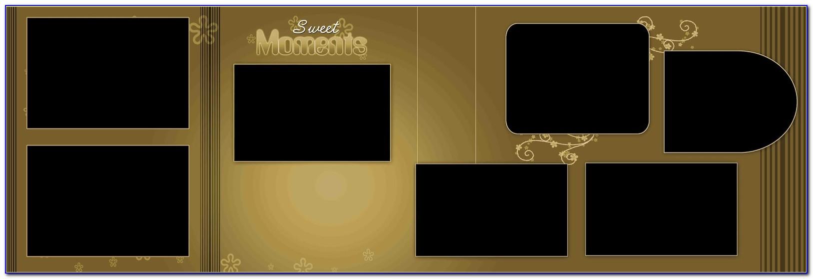 Best Wedding Album Design 12x36 Psd Templates