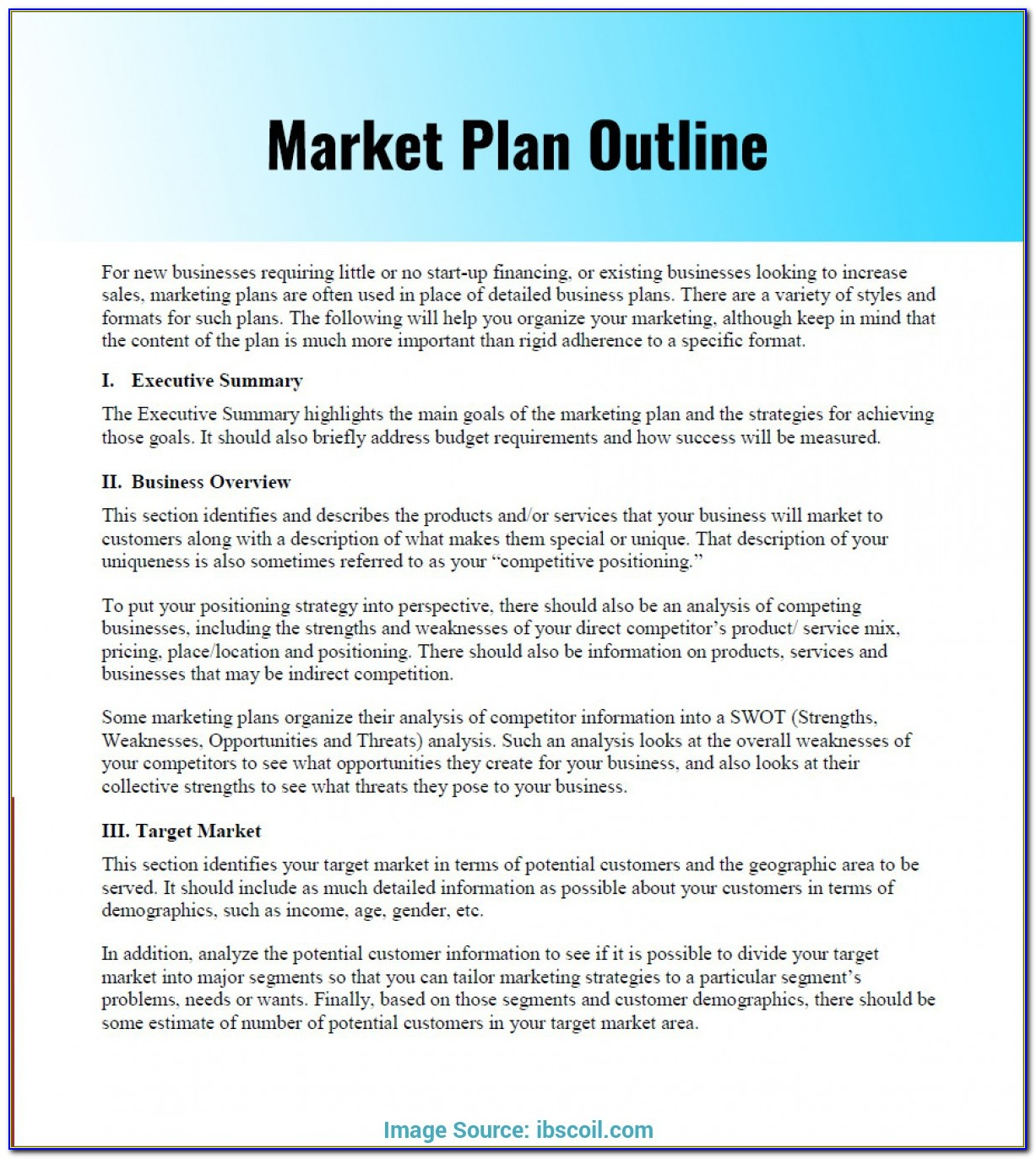 Apartment Marketing Plan Template Free