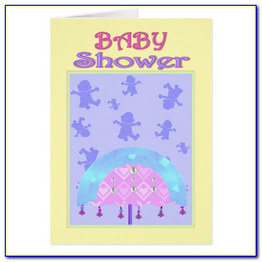 Baby Shower Greeting Card Template Free
