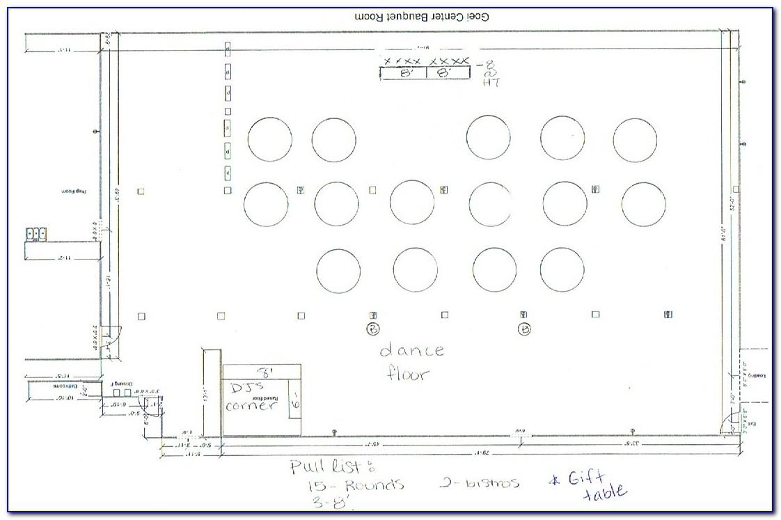 Banquet Floor Plan Template