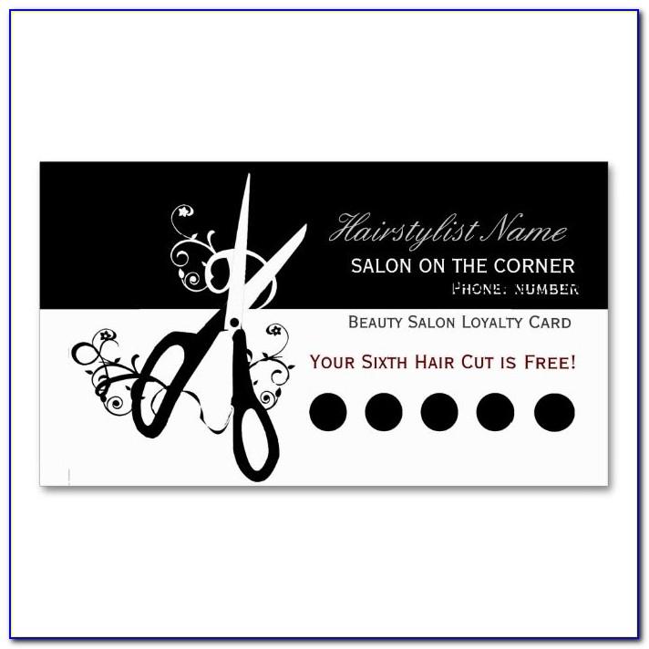 Beauty Salon Business Card Templates Free