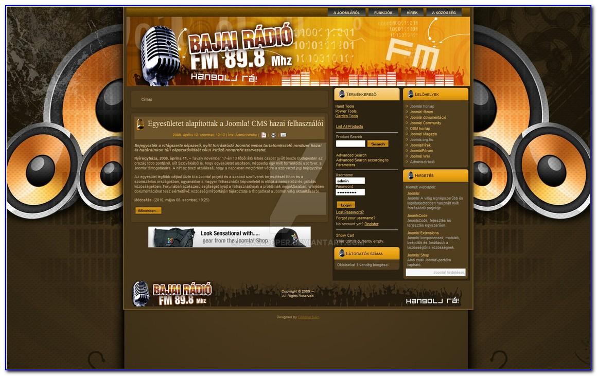 Best Radio Station Website Templates