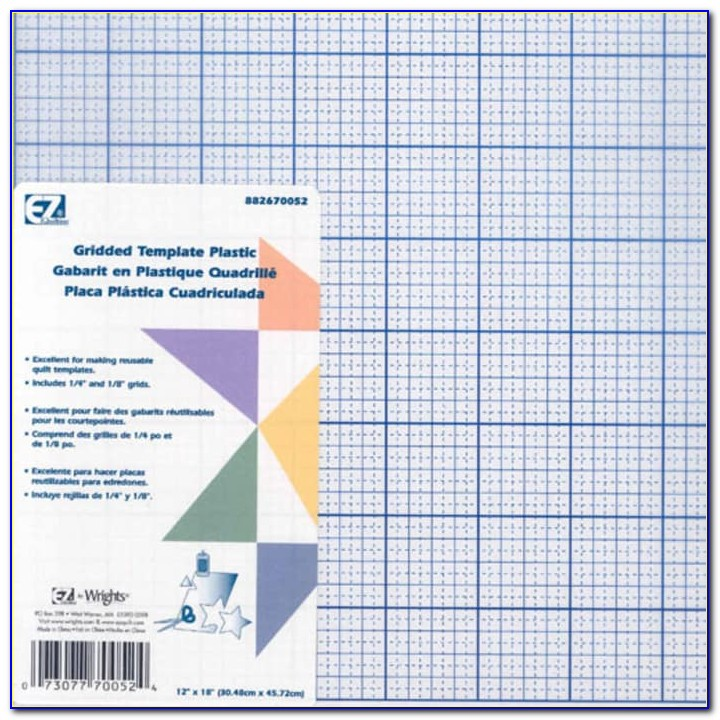 Best Template Plastic For Quilting