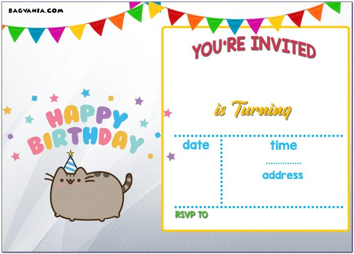 Birthday Invitation Templates Print At Home