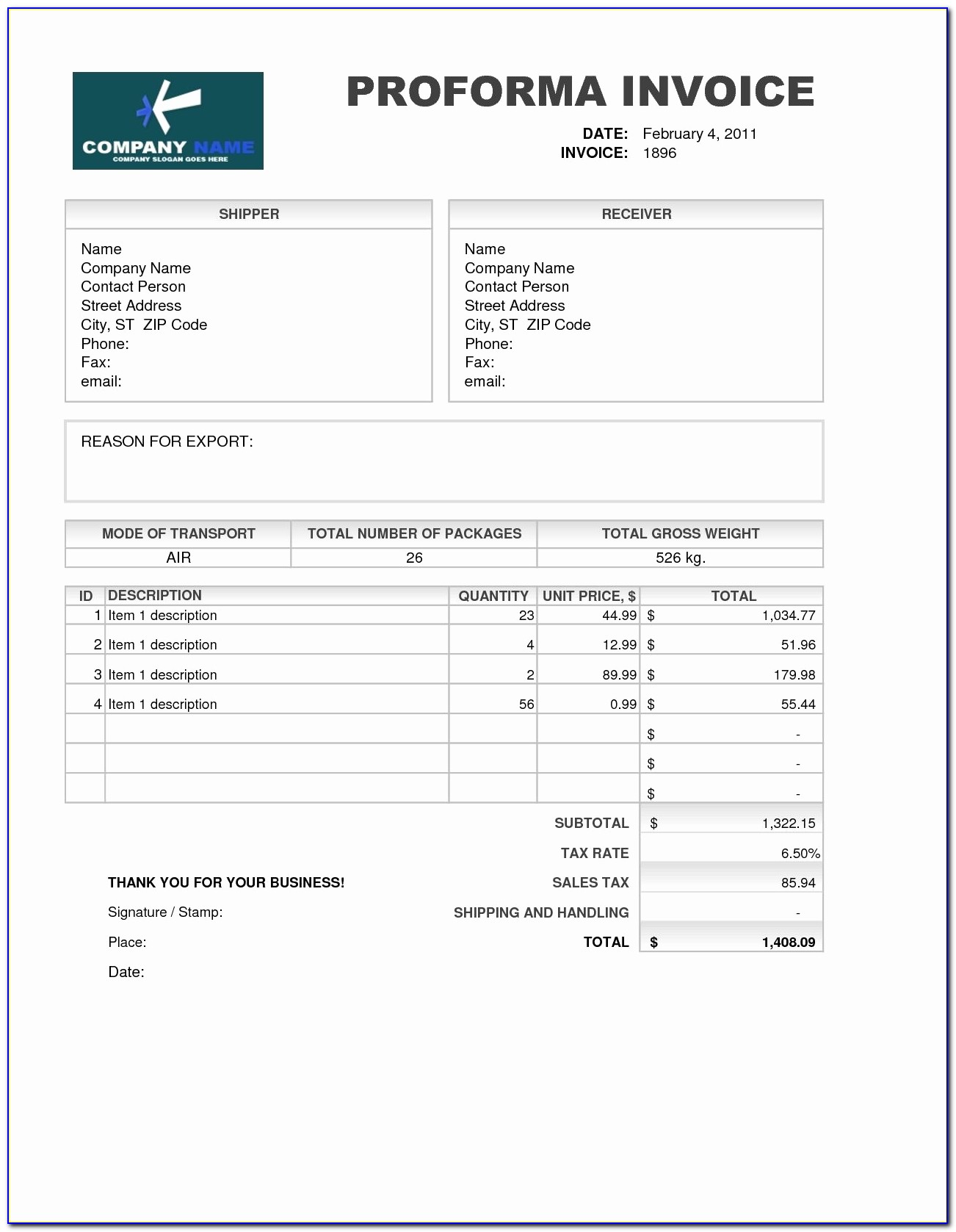 Proforma Invoice Template Unique Samples Of Proforma Invoice Invoice Template Free 2016 Meaning