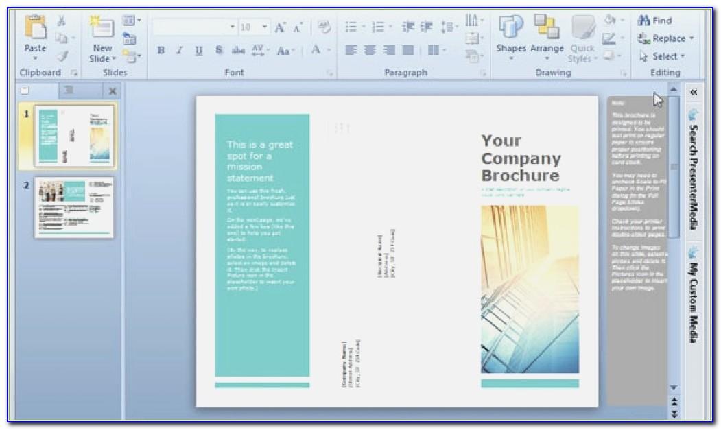 Brochure Template Online Free Brochure Templates Online Free Tri