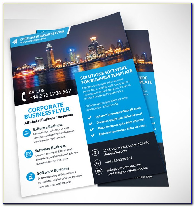 Business Marketing Flyer Template Free
