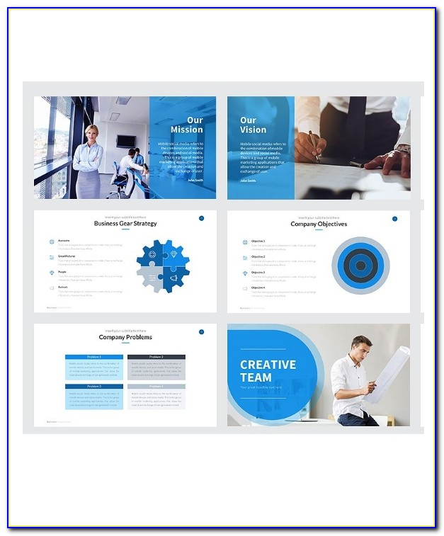 Business Plan Powerpoint Presentation Templates