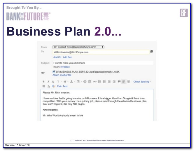 Business Plan Template For Real Estate Investor
