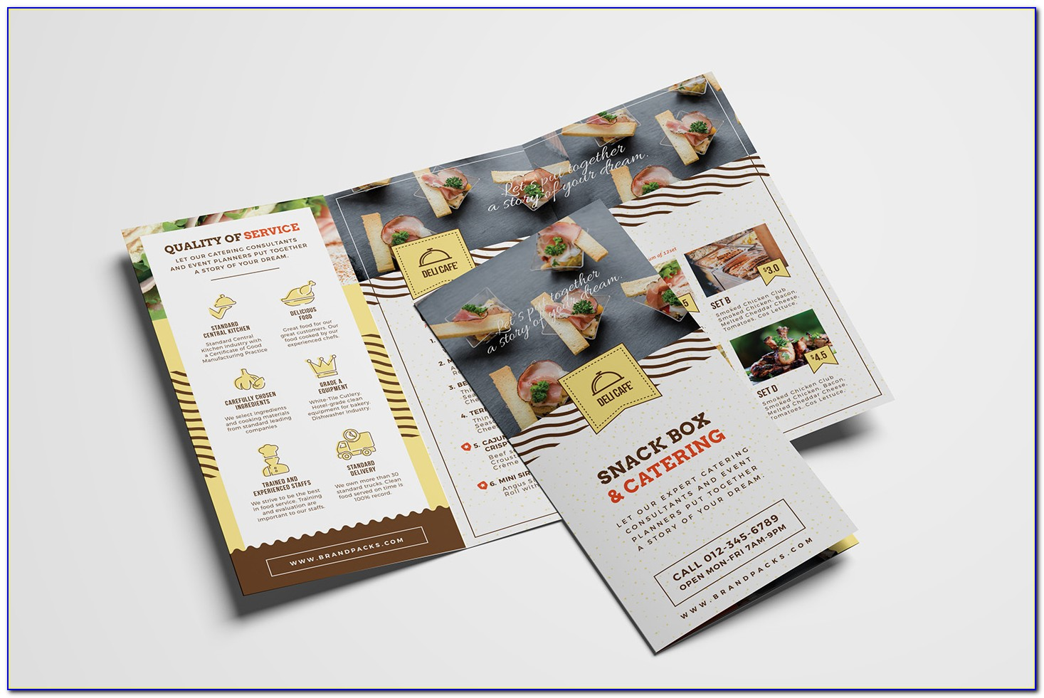 Catering Company Brochure Template