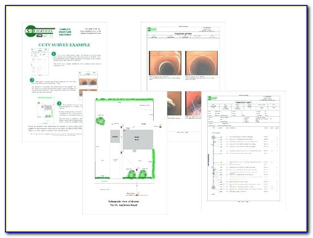 Cctv Inspection Report Template