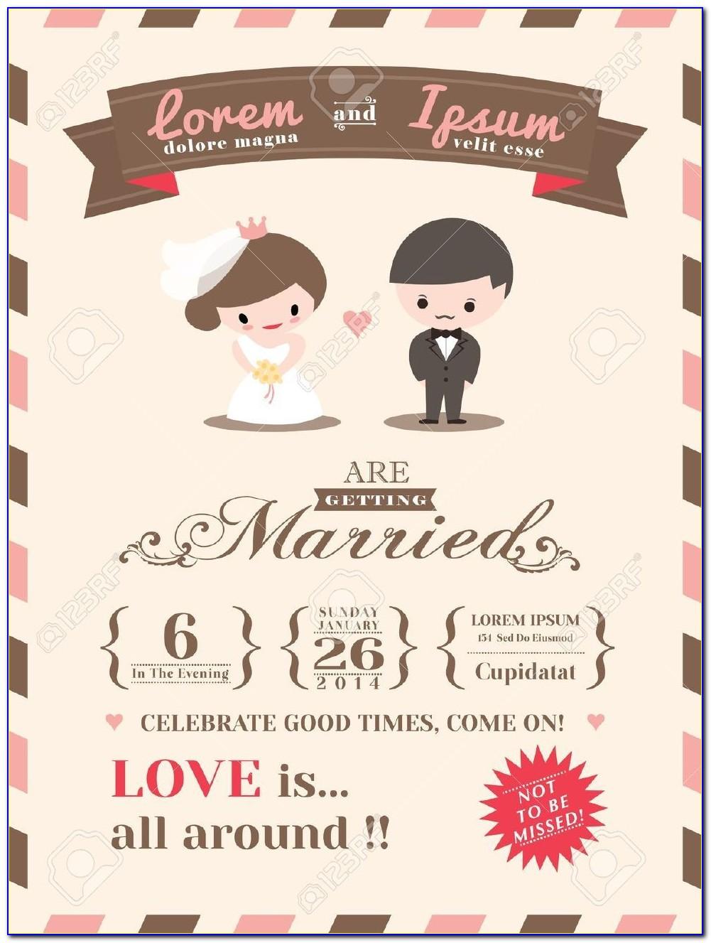 Christian Wedding Card Designs Templates