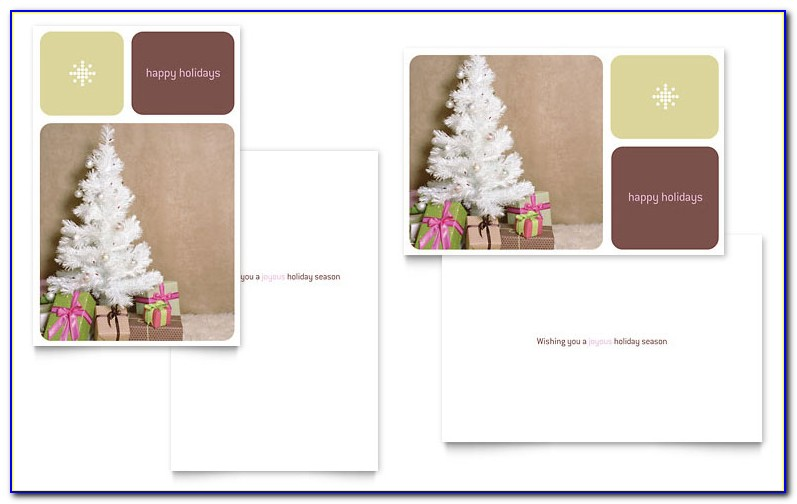 Christmas Card List Template Microsoft Word
