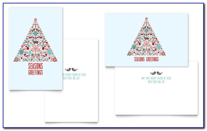 Christmas Card Templates Microsoft Publisher