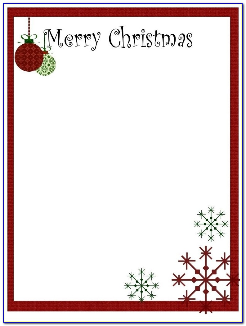 Christmas Stationery Templates Word 2017 Best Template Examples Christmas Templates For Word Christmas Templates For Word