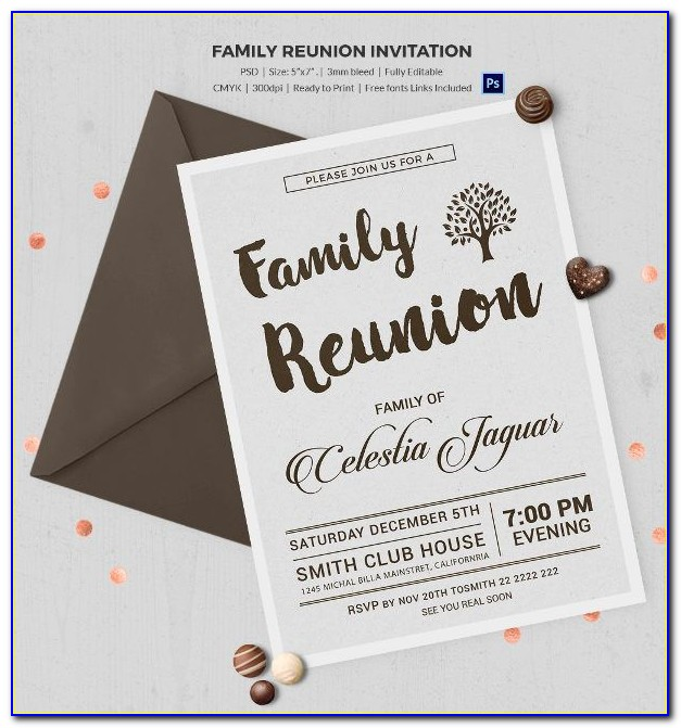 Class Reunion Flyer Template Free
