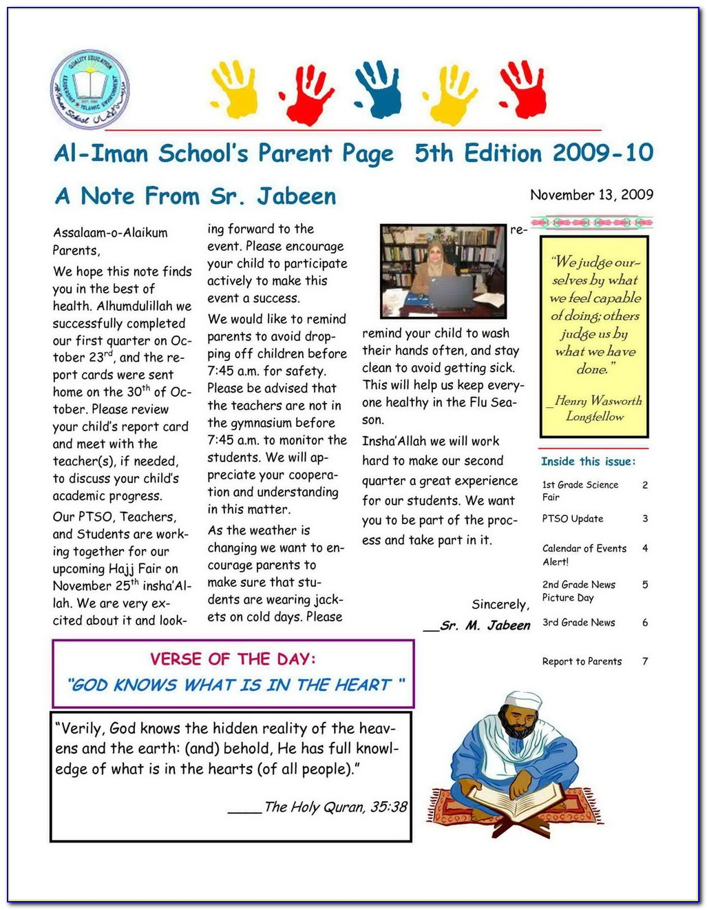 Classroom Newsletter Templates Free Download
