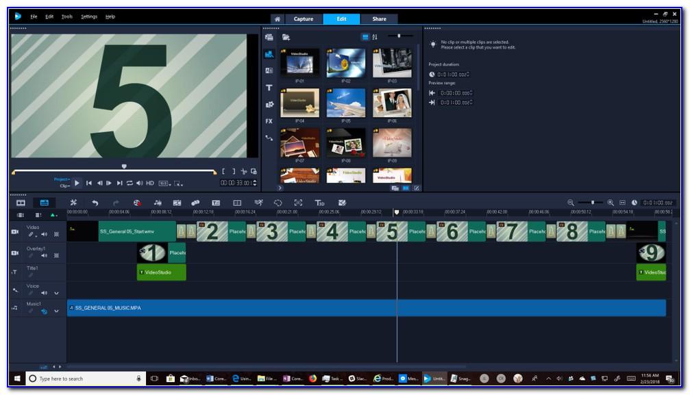 Corel Video Studio Intro Templates Download