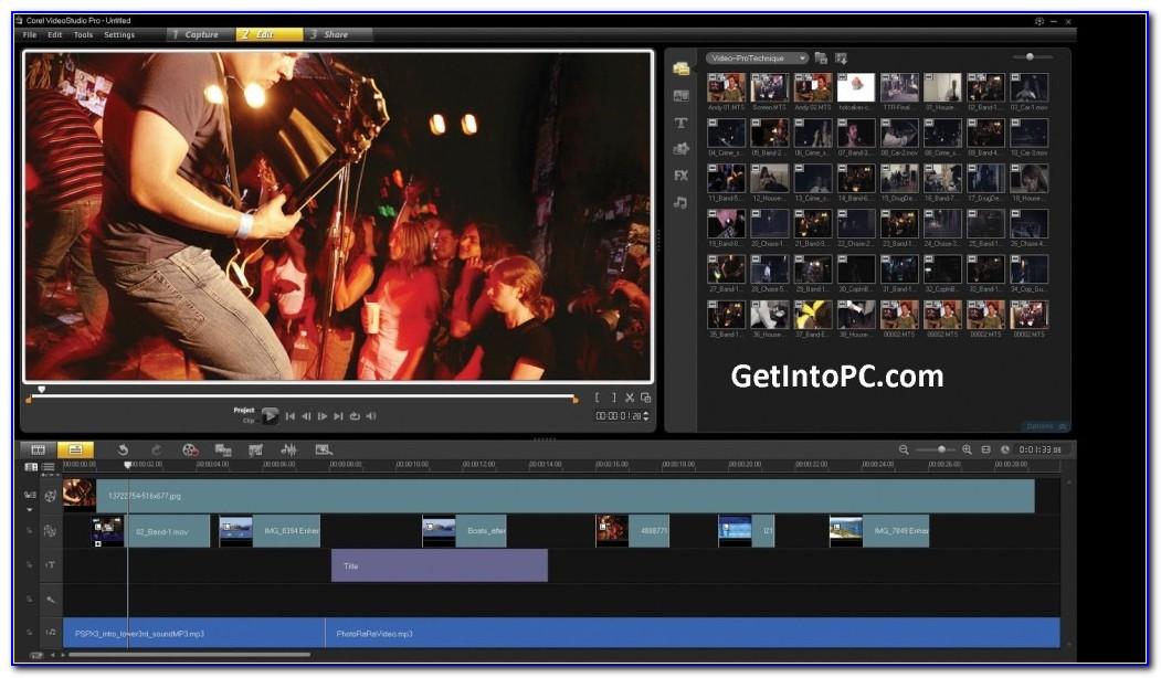 Corel Video Studio Project Template Download