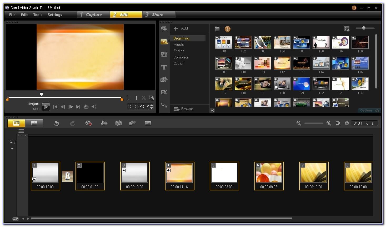 Corel Videostudio X9 Templates Download