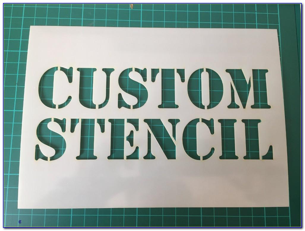 Custom Stencil Printable
