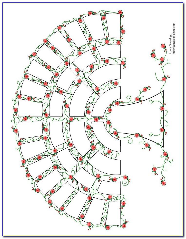 Decorative Family Tree Templates Free