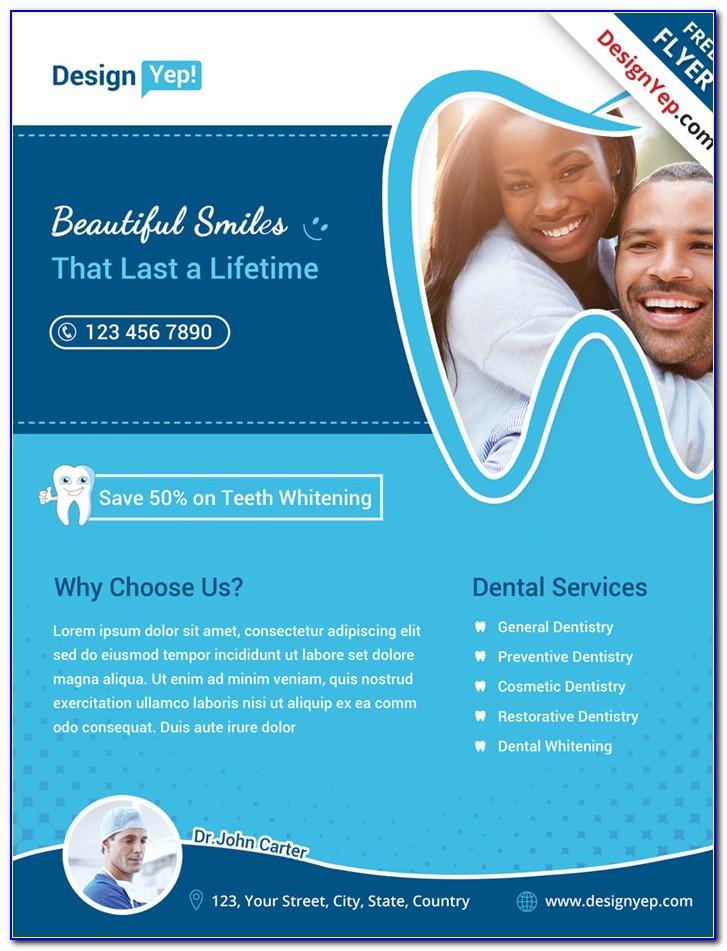Dental Flyer Templates Free Download