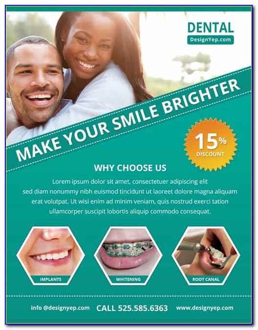 Dentist Flyer Templates Free