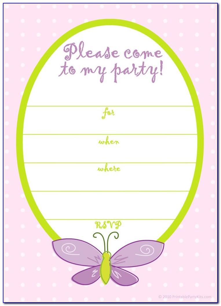 Designs For Invitation Cards Birthday
