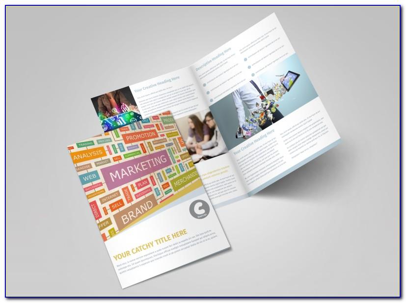 Digital Product Brochure Template