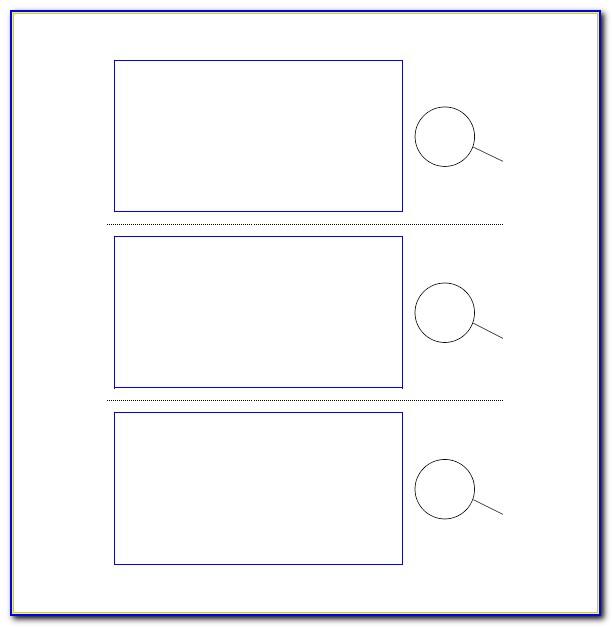 Door Hanger Template For Word 3 Per Page