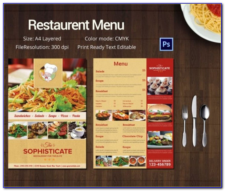Restaurant Menu Template Restaurant Menu Template 45 Free Psd Ai Vector Eps Illustrator Format Download Free