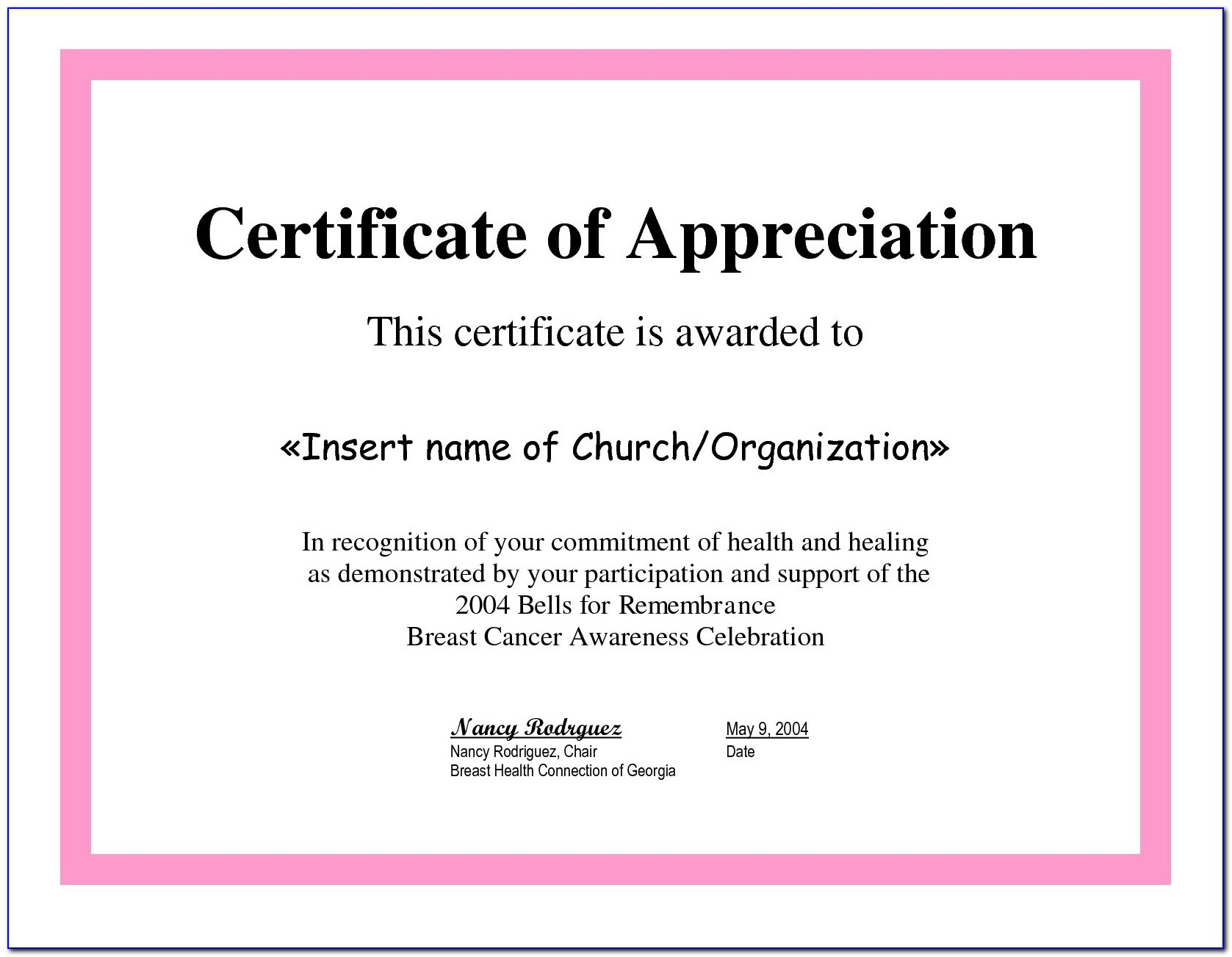 Employee Recognition Certificate Templates Sample