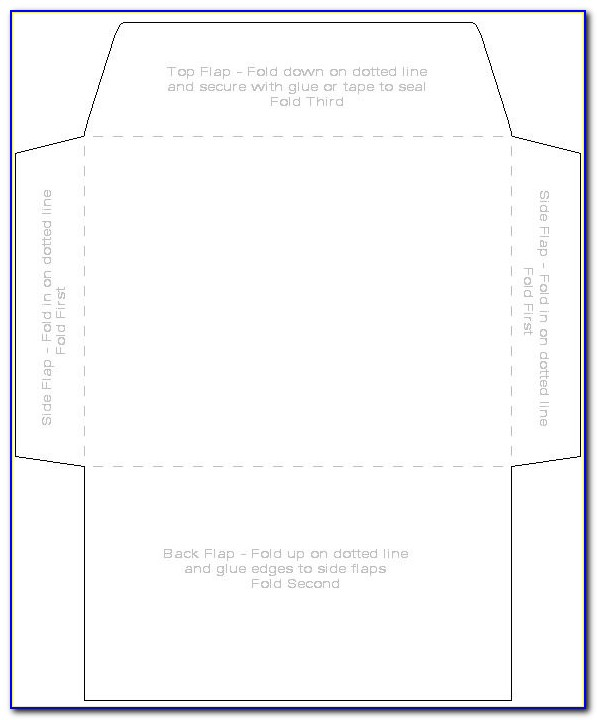 Envelope Address Printing Templates