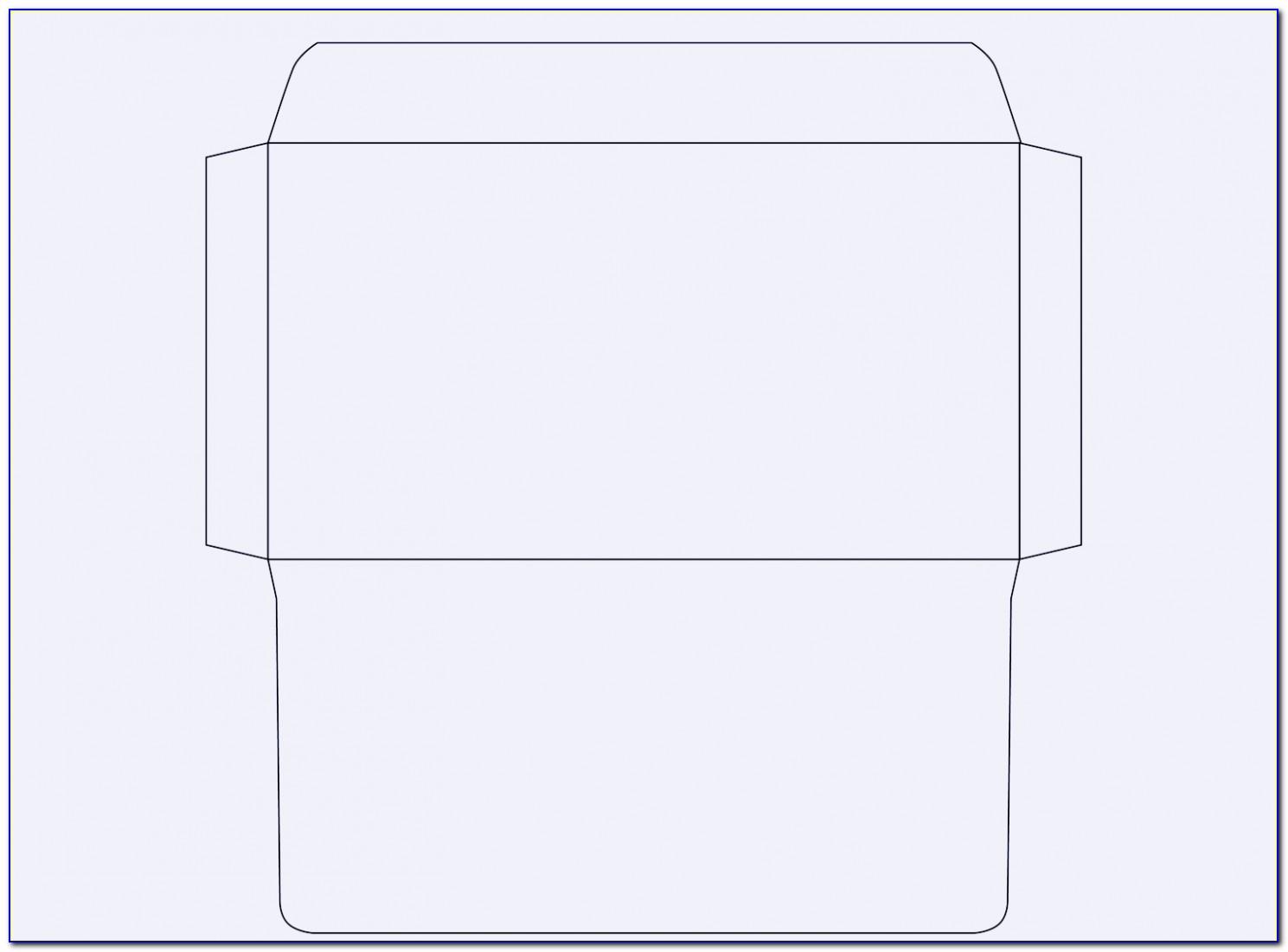 Envelope Printing Templates Free