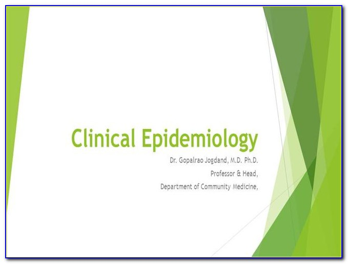 Epidemiology Powerpoint Template Free