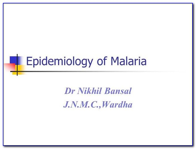 Epidemiology Powerpoint Template