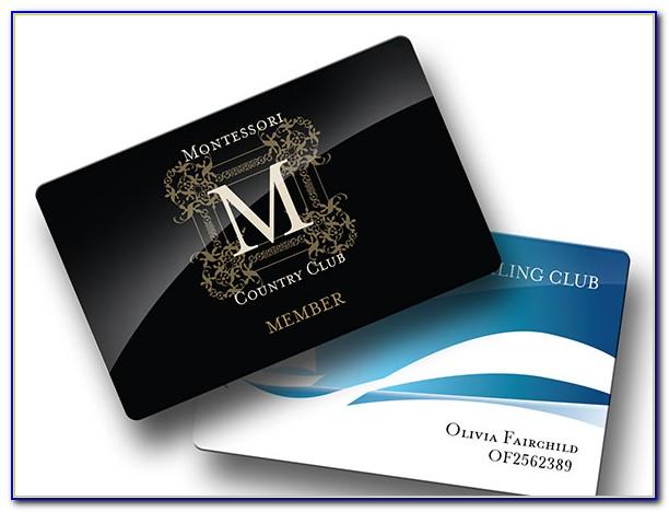 Fan Club Membership Card Template