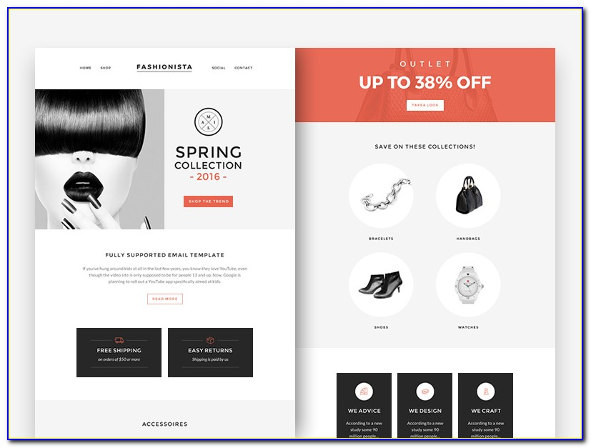 Fashion Newsletter Templates Free