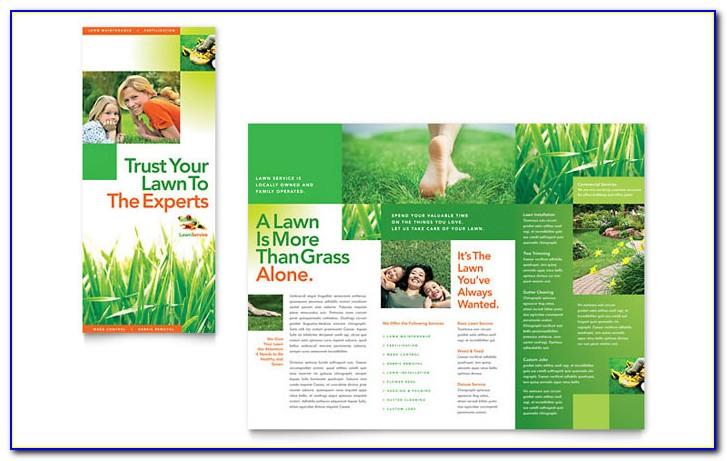 Free A5 Landscape Brochure Template