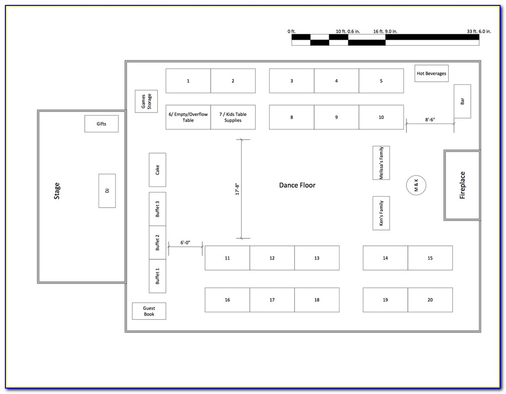 Free Banquet Floor Plan Template
