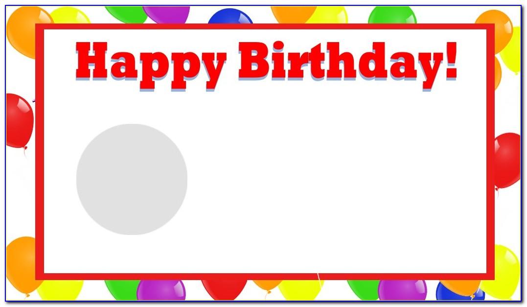 Free Birthday Card Templates Online