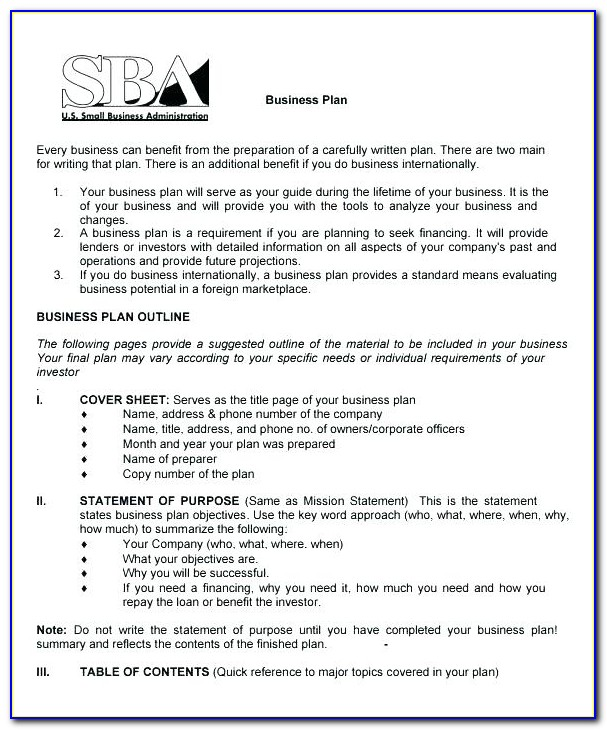 Free Business Continuity Plan Template Small Business