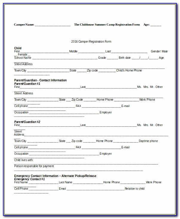 Registration Forms Template Word Insrenterprises Printable Dance School Registration Form Template Free Best Of Pdf Word Excel Templates Uuuoi